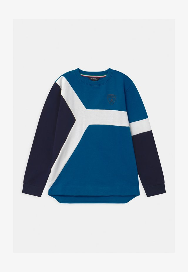 COLOR INSERT - Sweater - blue eleos