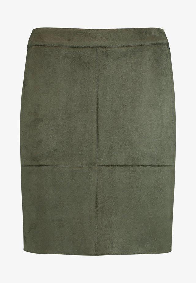 Mini skirt - olive