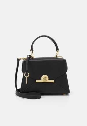 AMELIA MINI SATCHEL - Across body bag - black