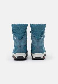 Salomon - VAYA POWDER CSWP - Winter boots - bluestone/mallard blue/black - 2