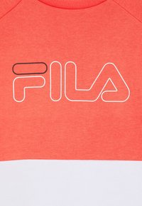 Fila - JUWEL TAPED CREW - Sweatshirt - calypso coral/bright white - 2