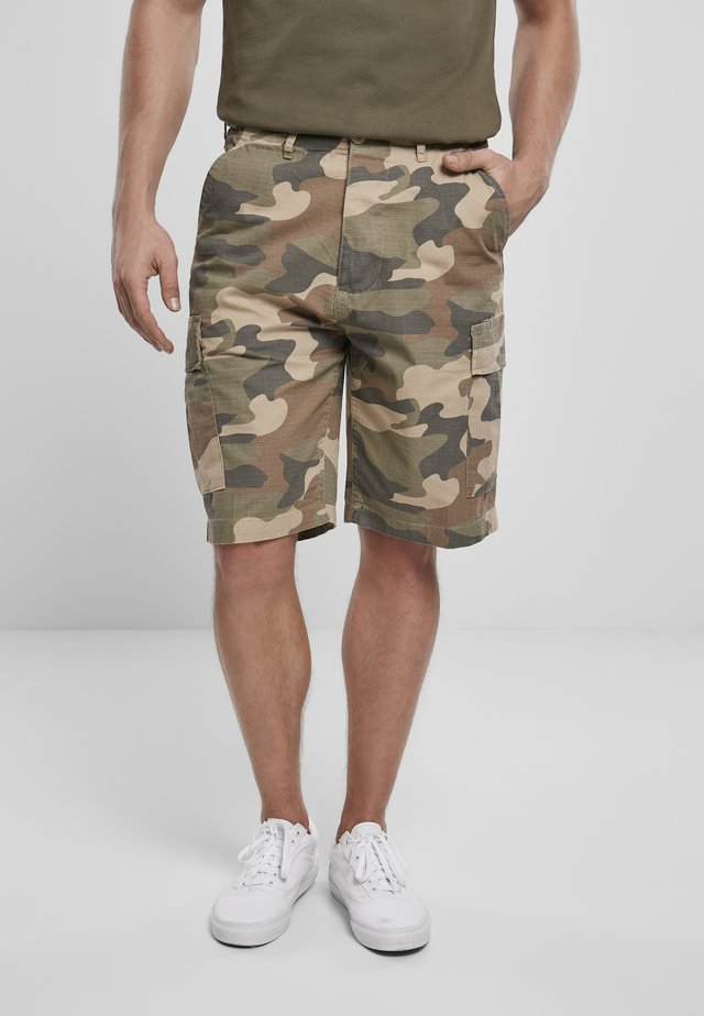 BDU RIPSTOP - Shorts - light woodland