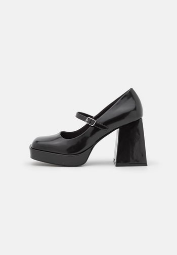 VEGAN JANE SHOE - Platform heels - black