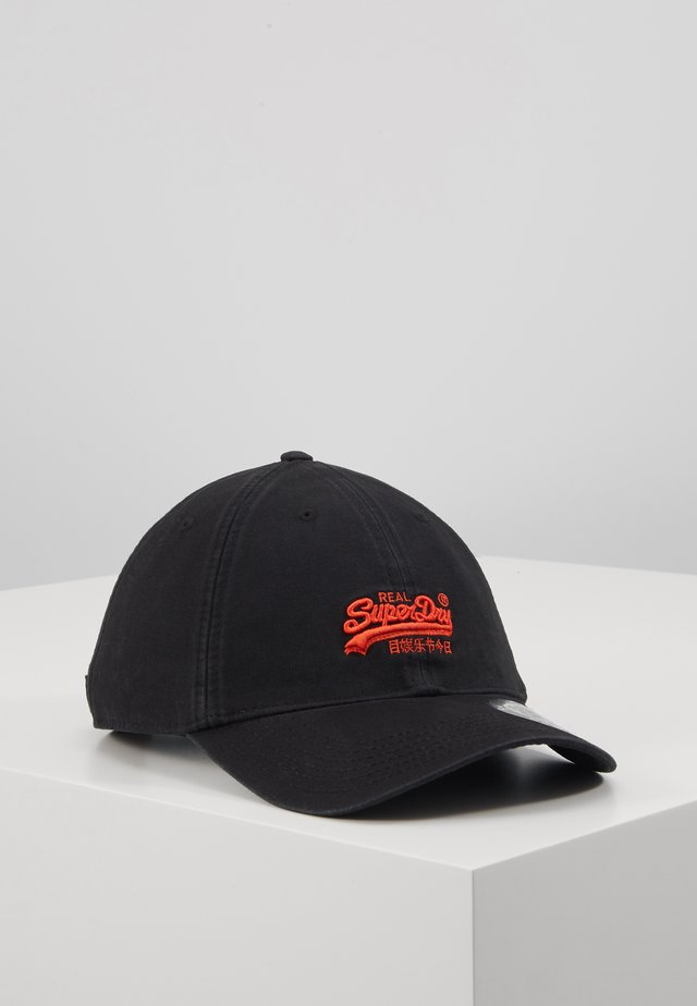 ORANGE LABEL CAP - Kšiltovka - black