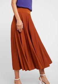 Anna Field - A-line skirt - caramel cafe - 3