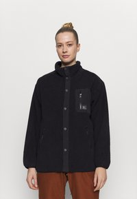 Rojo - ABIGAIL RETRO - Fleecejacke - true black - 0