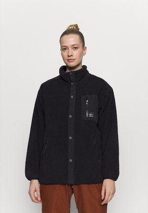 ABIGAIL RETRO - Fleece jacket - true black