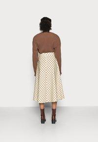 Love Copenhagen - VULAN SKIRT - A-line skirt - brown/cement - 2