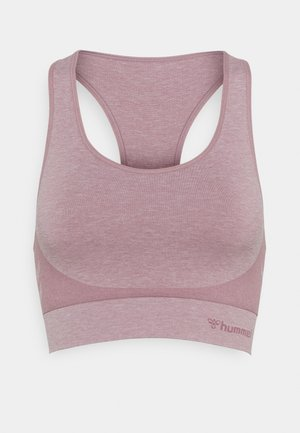 ROSA SEAMLESS SPORTS - Sport-bh met light support - dusky orchid melange