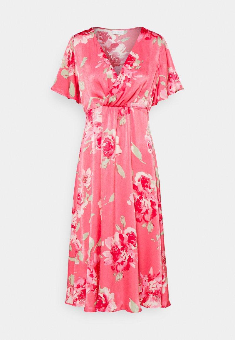 Vila - VIALBERTE ANCLE DRESS - Vestido de cóctel - azalea pink