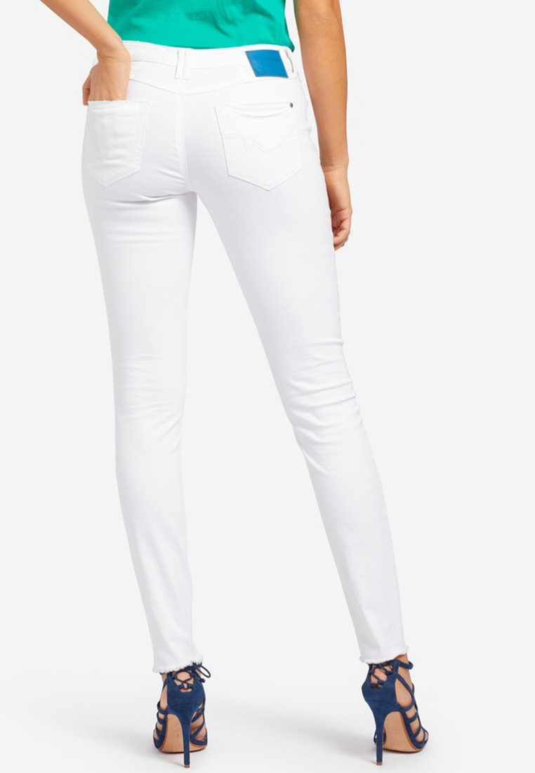 khujo EMBER WASHED COLORED - Jeans Skinny - white - Jeans Femme ywNu1