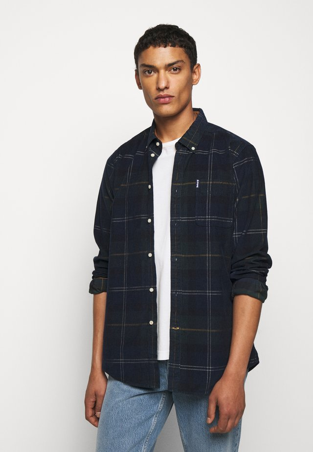 BARBOUR BLAIR SHIRT - Shirt - blue