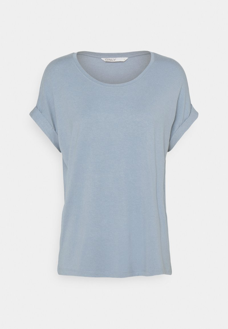 ONLY - ONLMOSTER ONECK - T-shirts - faded denim