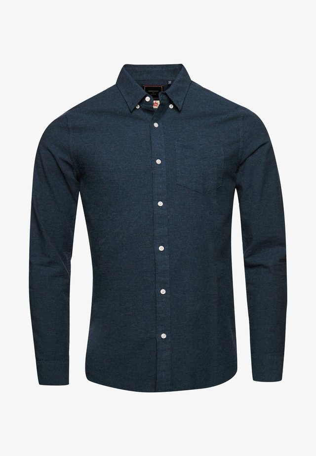 CLASSIC UNIVERSITY OXFORD - Shirt - navy marl/dark grey