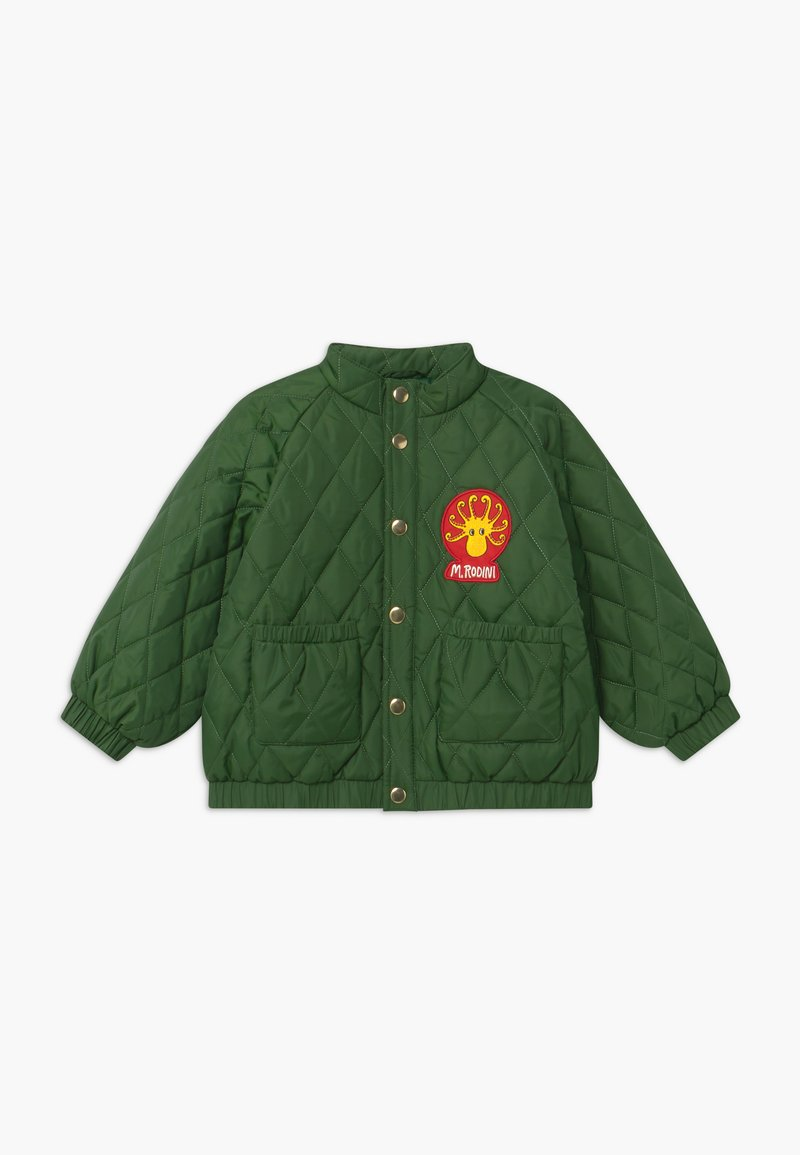 Mini Rodini - DIAMOND QUILTED  - Winter jacket - dark green