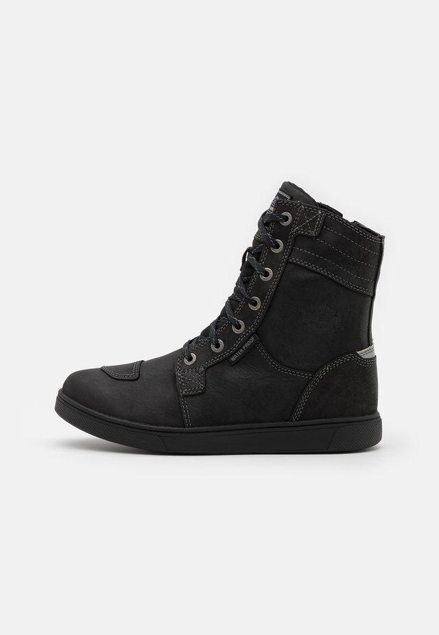 STEINMAN - Bottines à lacets - black
