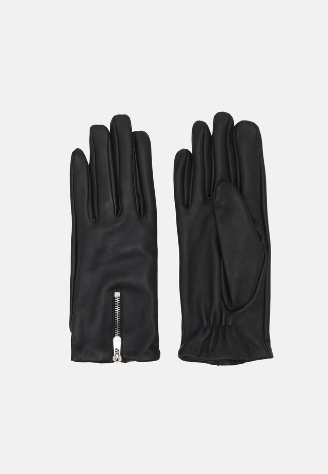AZIPPA GLOVES - Gloves - black