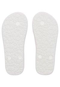 Roxy - PEBBLES  - T-bar sandals - pink/white - 2