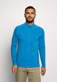 Mammut - NAIR JACKET MEN - Zip-up hoodie - gentian melange - 0