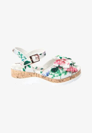 BAKER BY TED BAKER - Wedge sandals - white