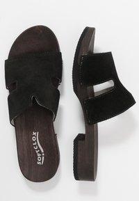 Softclox - BLIDA - Zuecos - schwarz - 1