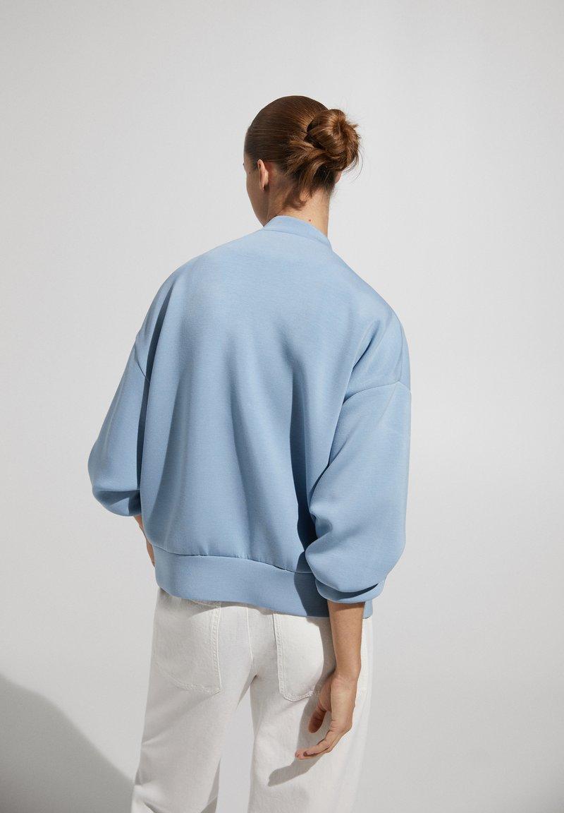 Massimo Dutti - Bomber Jacket - blue