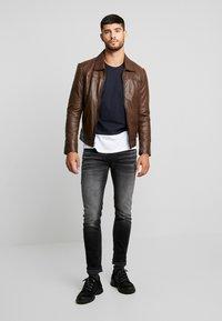 Antony Morato - TAPERED OZZY  - Slim fit jeans - black - 1