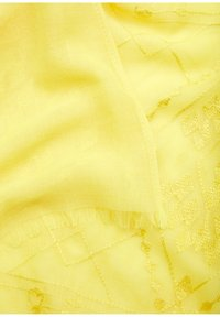 s.Oliver - Embroidery-Muster - Sjaal - yellow - 2
