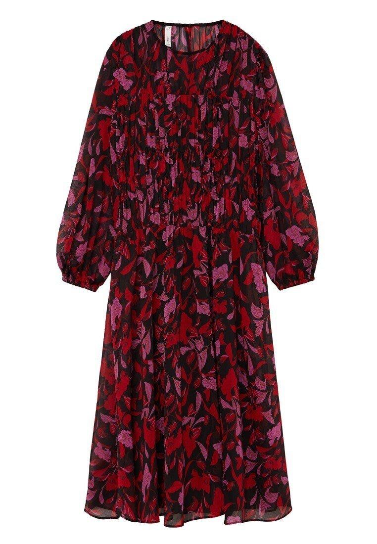 FLORALIS - Day dress - noir