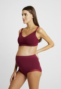 Cache Coeur - MILK MATERNITY NURSING SEAMLESS BRA - T-shirt bra - burgundy - 1