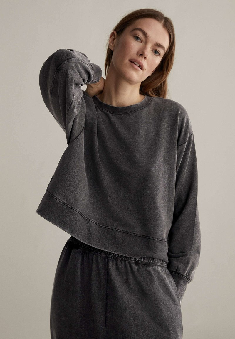 OYSHO - Sweatshirt - dark grey