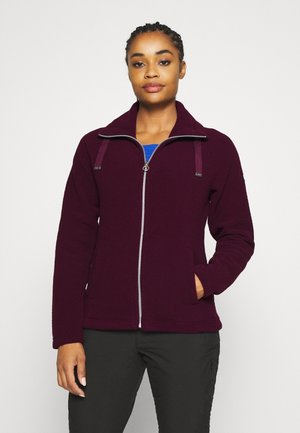 ZAYLEE - Fleece jacket - dark burgundy