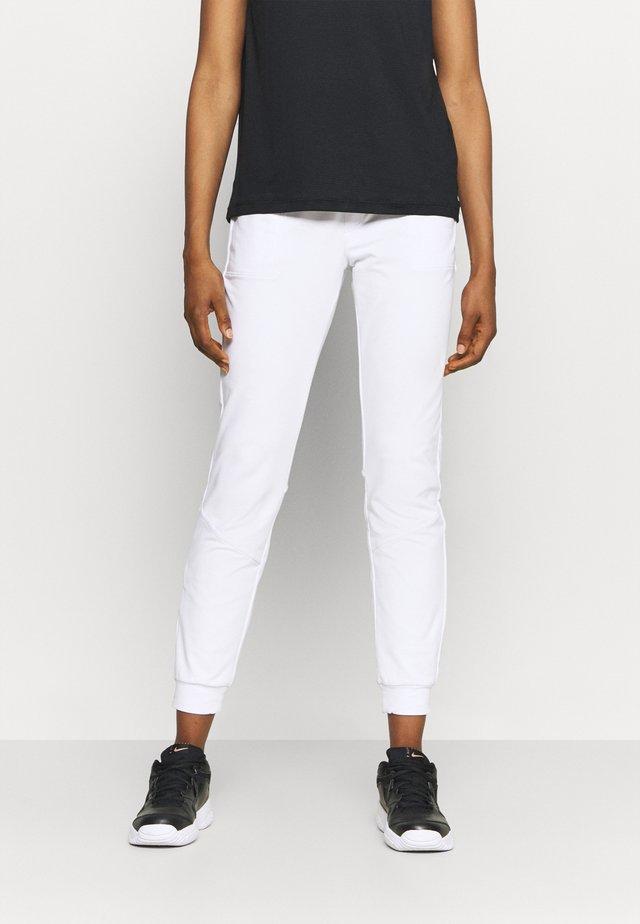 SOLE - Verryttelyhousut - white