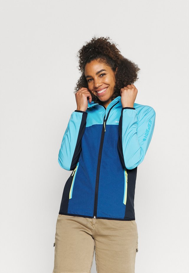 DECORAH - Veste softshell - aqua