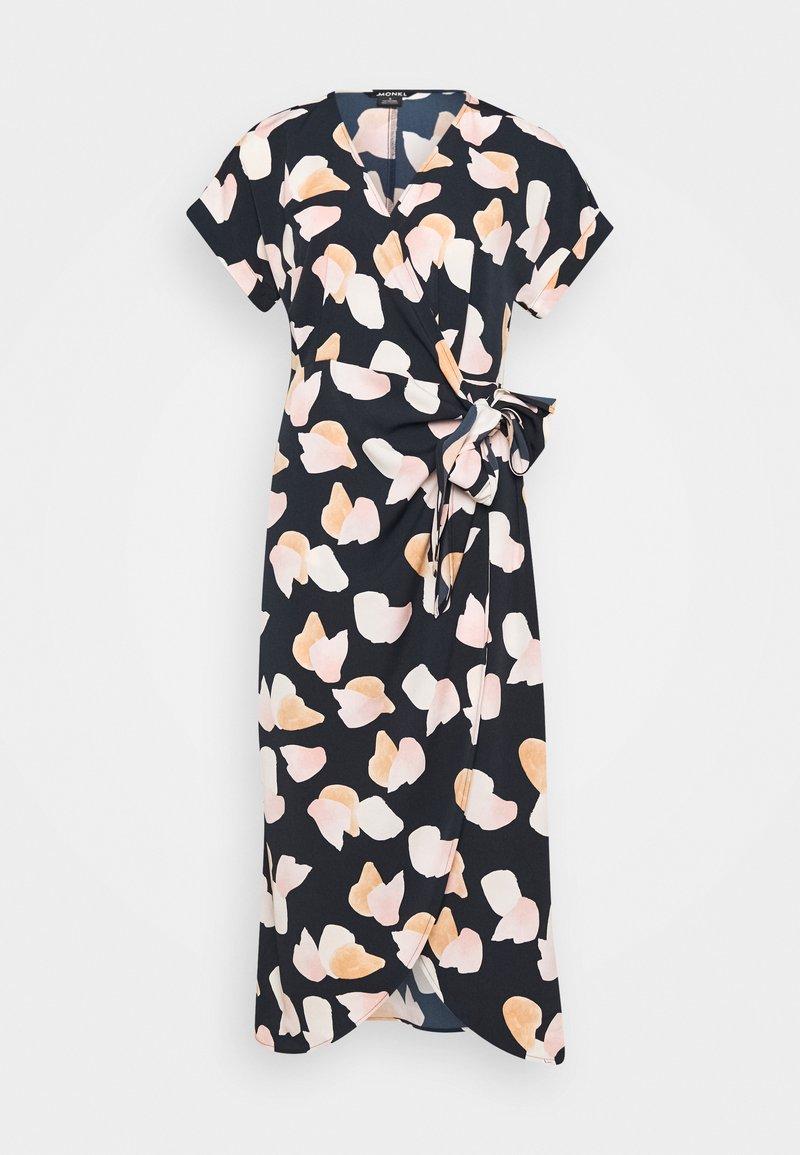 Monki - ENLIE WRAP DRESS - Kjole - bordeaux