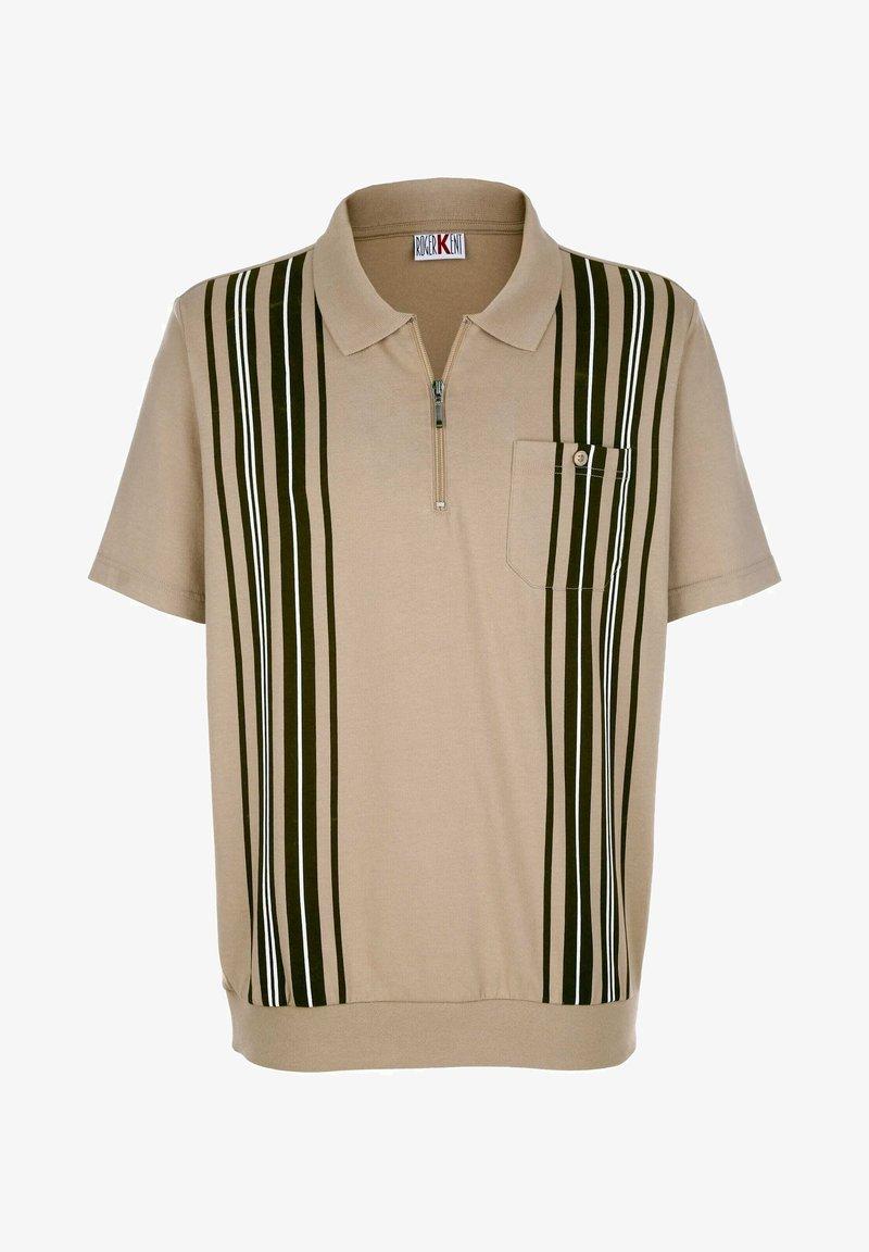 Roger Kent - Polo shirt - sand/oliv