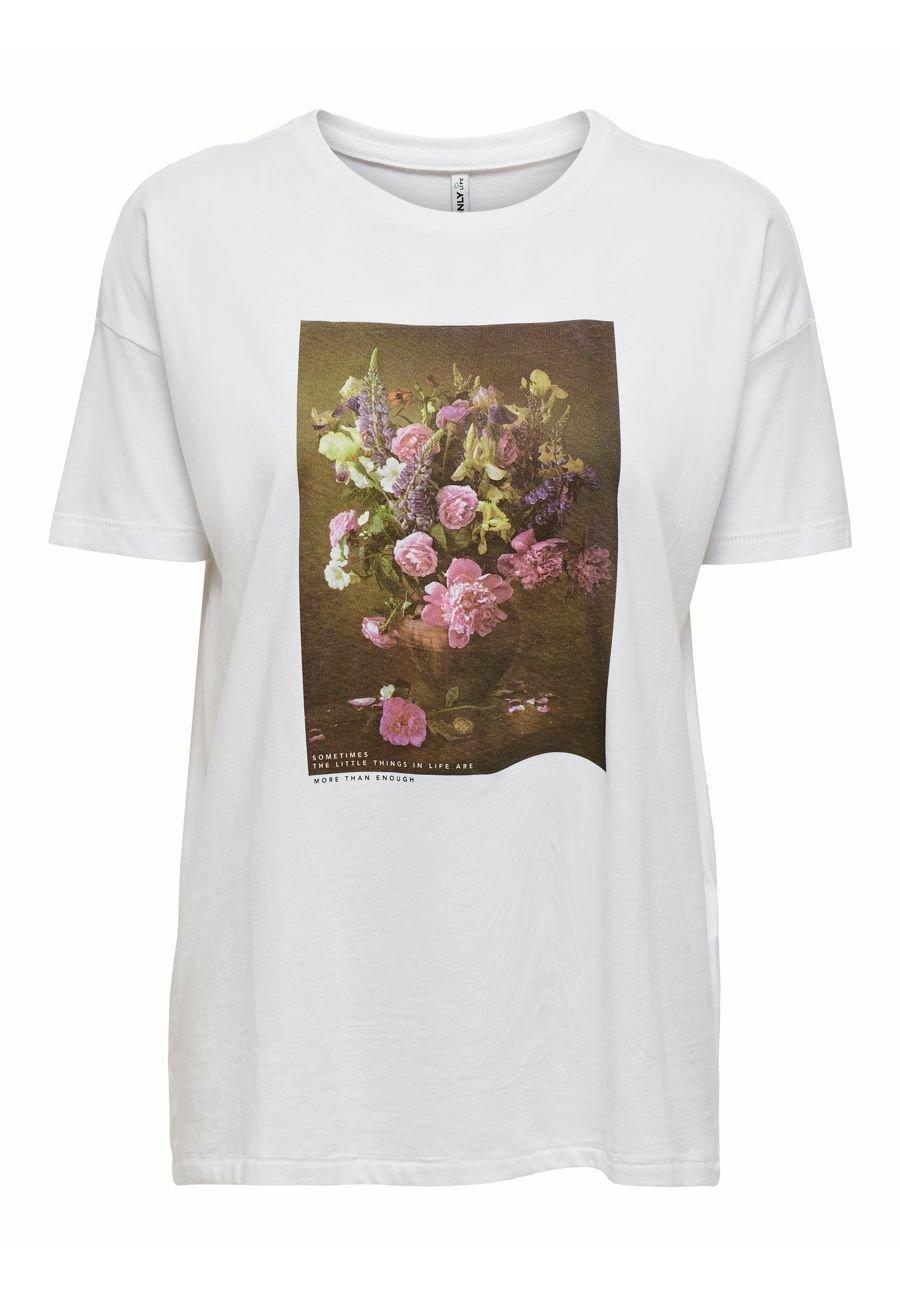 Damen T-Shirt print - bright white
