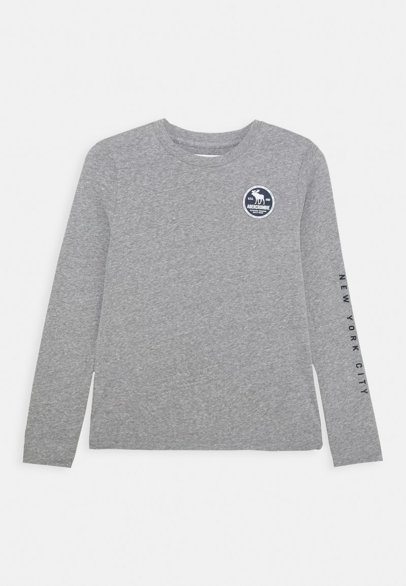 Abercrombie & Fitch - VINTAGE PRINT LOGO - Long sleeved top - grey