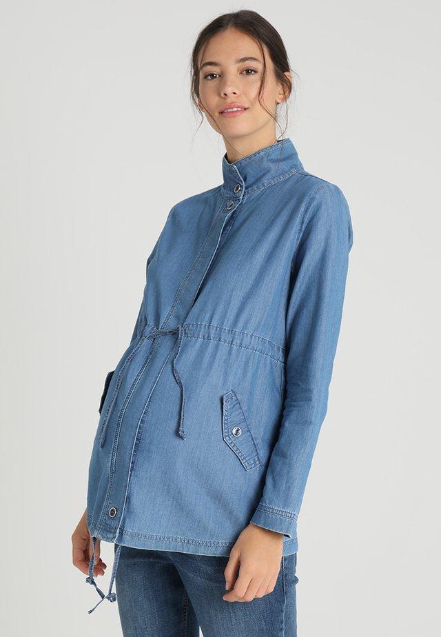 Jeansjakke - bright blue