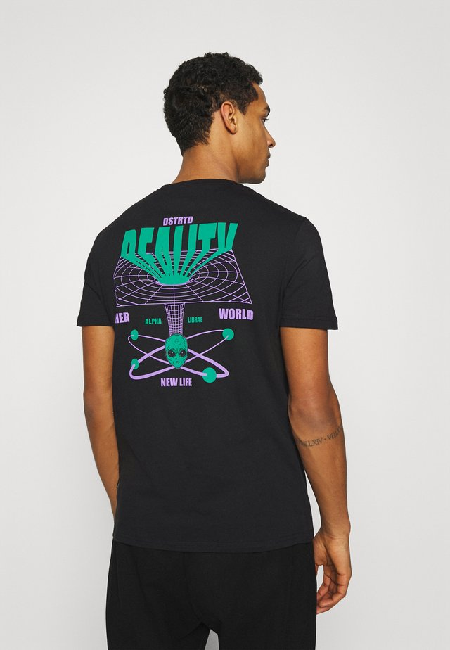 UNISEX - T-shirt con stampa - black