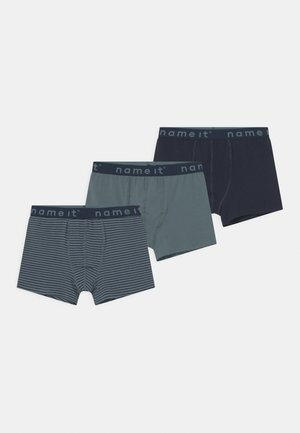 NKMBOXER 3 PACK - Pants - goblin blue