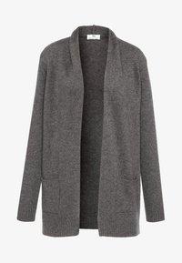 PETER HAHN - Cardigan - medium grey - 4