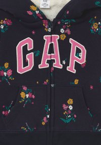 GAP - TODDLER GIRL LOGO - Zip-up hoodie - navy - 2