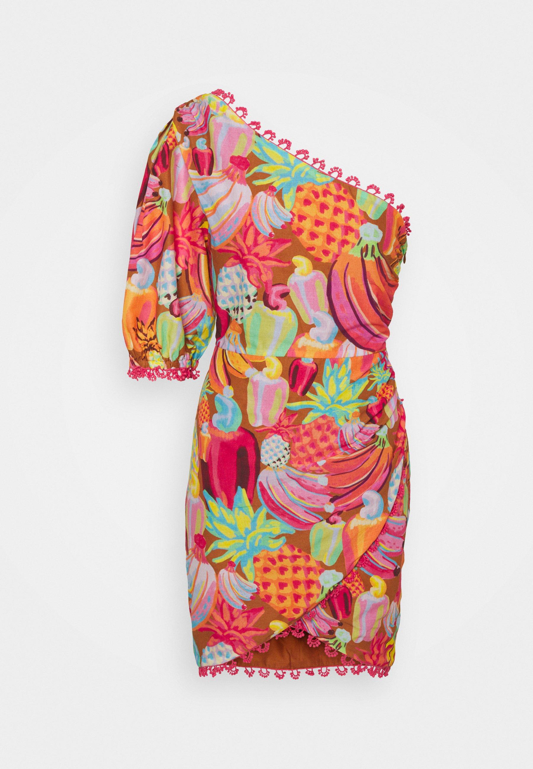 Femme FRUIT SALAD MINI DRESS - Robe fourreau