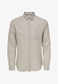 Only & Sons - ONSCAIDEN SOLID - Skjorta - beige - 0