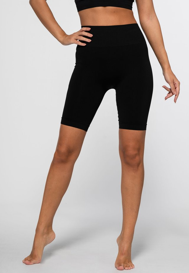 STREET SEAMLESS - Collants - black