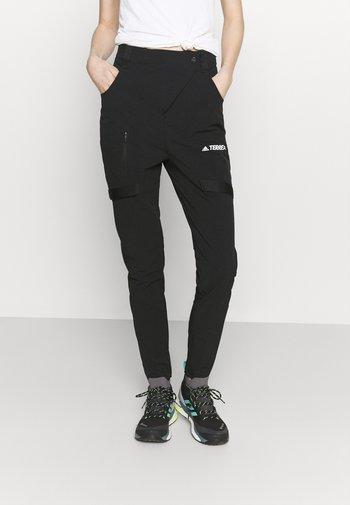 TERREX ZUPAHIKE - Outdoorové kalhoty - black