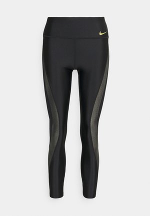 ICNCLSH SPEED - Tights - black/metallic gold