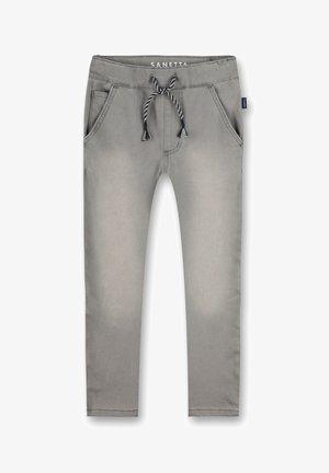 JUNGEN-HOSE DENIM GRAU AIR SPACE - Relaxed fit jeans - grez