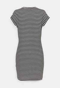 Even&Odd - Jersey dress - black/white - 1
